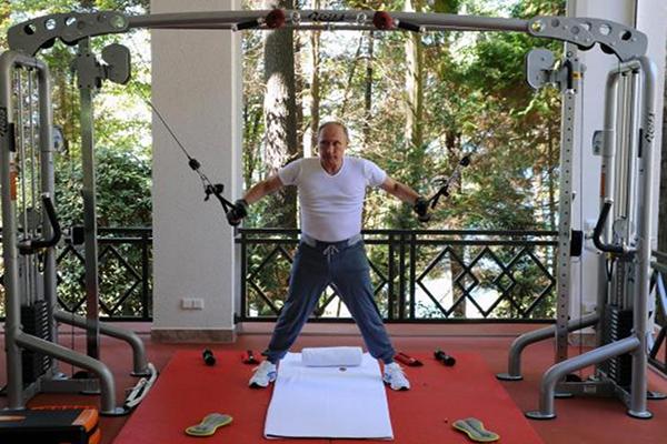 الرئيسي الروسي فيلاديمير بوتين