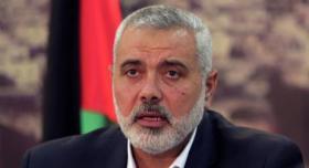 """هنية لـ """"أبومازن"""": لا نسعى لتشكيل إطار مواز لمنظمة التحرير ولا لجنة إدارية في غزة"""