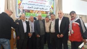 الهيئة الوطنية للمتقاعدين العسكريين تشارك بحفل تكريم اطفال الاسرى بغزة