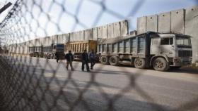 الاتحاد الأوروبي يعلن إعادة تأهيل معبر كرم أبو سالم التجاري
