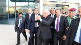 الرئيس عباس يغادر المستشفى ظهر اليوم