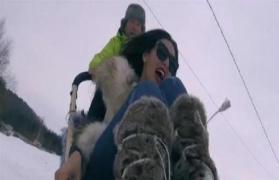 """فيديو  رامز جلال يتحرش بياسمين صبري في الحلقة الاولى من """"رامز تحت الصفر"""""""