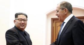 شاهد| لافروف يدعو كيم جونغ أون لزيارة روسيا
