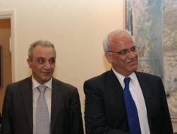 عريقات وفرج يبحثان مع الصفدي والجندي مستجدات القضية الفلسطينية