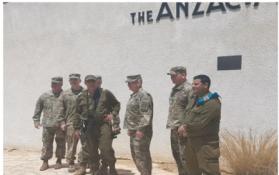 سبب زيارة ضباط أمريكيين لحدود غزة اليوم