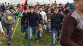 حماس تطالب بمحاكمة قادة الاحتلال لقتل أطفال بمسيرات العودة