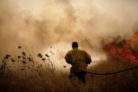 الاحتلال يكشف إجمالي خسائره بسبب طائرات الورقية الحارقة