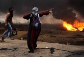 إصابة وحالات إختناق بمواجهات مع جيش الاحتلال بجنين