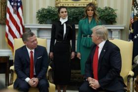 خلال استقبال العاهل الأردني.. ترامب يعلن إحراز تقدم كبير في الشرق الأوسط
