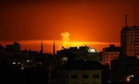 إطلاق نار على آلية إسرائيلية على حدود غزة والاحتلال يقصف موقع للمقاومة