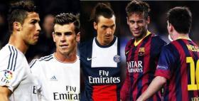 قائمة بأسماء لاعبي كرة القدم الأعلى أجراً بالعالم