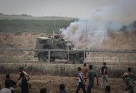 إصابات بالاختناق خلال مواجهات مع جيش الاحتلال في مخيم جنين