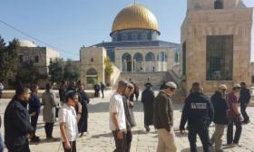 """عشرات المستوطنين يقتحمون المسجد الأقصى في """"عيد الغفران"""""""