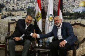 حماس تكشف تفاصيل لقاء قيادات الحركة والوفد المصري في غزة
