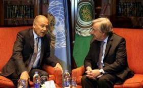 أبو الغيط وغوتيريس يؤكدان على ضرورة تأمين حقوق الشعب الفلسطيني