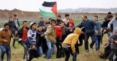 إصابات برصاص الاحتلال على الحدود الشرقية لـ قطاع غزة