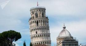 تغير مفاجئ في ميل برج بيزا