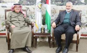حماس تبعث برسالة تهديد الى إسرائيل عبر السفير القطري العمادي