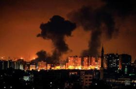 جيش الاحتلال يقصف أهدافاً لمقاومة في القطاع