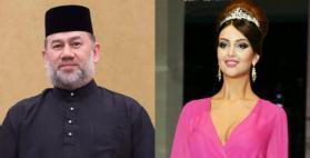 """ملك ماليزيا يستقبل خبر """"حمل"""" زوجته بعد يومين من تنازله عن العرش"""