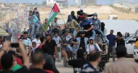 """أهالي غزة يستعدون لجمعة """"صمودنا سيكسر الحصار"""""""