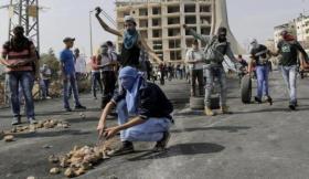 إصابة 30 مواطنا إحداها خطيرة برصاص الاحتلال في قرية المغير برام الله