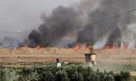 البالونات الحارقة تعود مجددا.. اندلاع عدة حرائق في مستوطنات غلاف غزة