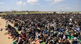 حماس: تحقيق أهداف مسيرات العودة تتطلب وحدة الصف والكلمة