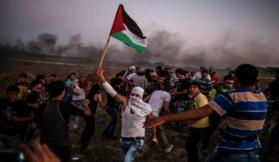 مزهر: الهيئة الوطنية تقرر العودة لاستخدام الأدوات الشعبية على حدود غزة