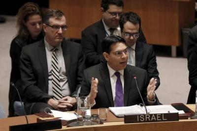 """مندوب إسرائيل بالأمم المتحدة يُهدد بـ """"دفن قادة حماس في أنفاق غزة"""""""