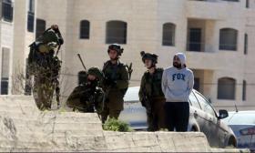 جيش الاحتلال يقتحم اسكان المعلمين في جنين