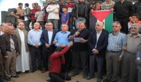 هيئة مسيرات العودة تدعو أبومازن للقدوم لغزة وتعلن 15/5 اضراب شامل