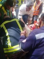 الدفاع المدني يخلي 4 إصابات في حادث إنهيار جدار قيد الإنشاء في رام الله
