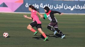 افتتاح مباريات الدوري النسوي لكرة القدم