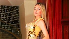 """إطلالة جريئة لـ """"دومينيك حوراني"""" في حفلها الأخير بالأردن"""