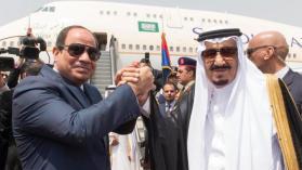 الملك سلمان يؤكد على متانة العلاقات بين السعودية ومصر