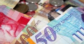 ارتفاع طفيف على أسعار العملات مقابل الشيكل اليوم