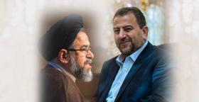 العاروري يلتقي وزير الأمن الإيراني في بيروت