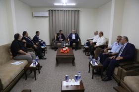 تفاصيل اجتماع قيادة حركة حماس مع الوفد المصري في غزة