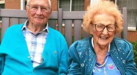 حب وزواج بعد سن المائة!