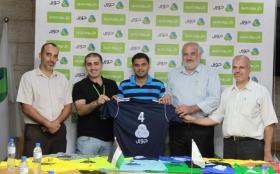 اتحاد الطائرة وجوال يسلمان الملابس للفرق المشاركة ببطولة الدوري في غزة