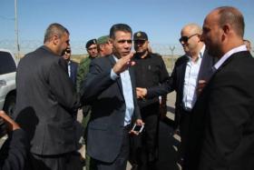 وفد المخابرات المصرية يغادر غزة متوجهاً الى رام الله
