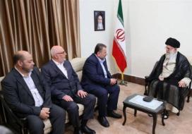 العاروري: حماس تقف في الخط الأمامي في الدفاع عن إيران