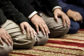 وفاة امام مسجد أثناء الصلاة