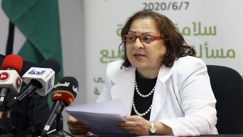 وزيرة الصحة الدكتورة مي الكيلة