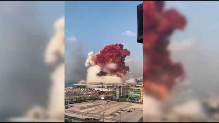 البنتاغون: لا دليل لدى الجيش الأمريكي على أن انفجار بيروت كان هجوما كما أشار ترامب