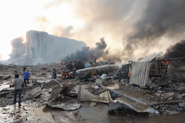 مراصد الزلازل: انفجار مرفأ بيروت كان بطاقة تُعادل 4.5 درجة على مقياس ريختر