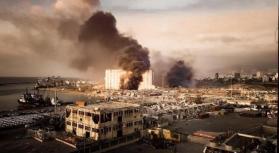 """بعد ثلاثة أيام من البحث وسط أنقاض مبنى في بيروت """"لا علامة على وجود حياة"""""""