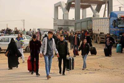 السلطات المصرية تفرج عن ثلاثة مواطنين من قطاع غزة