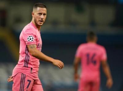 هازارد يثير القلق في ريال مدريد
